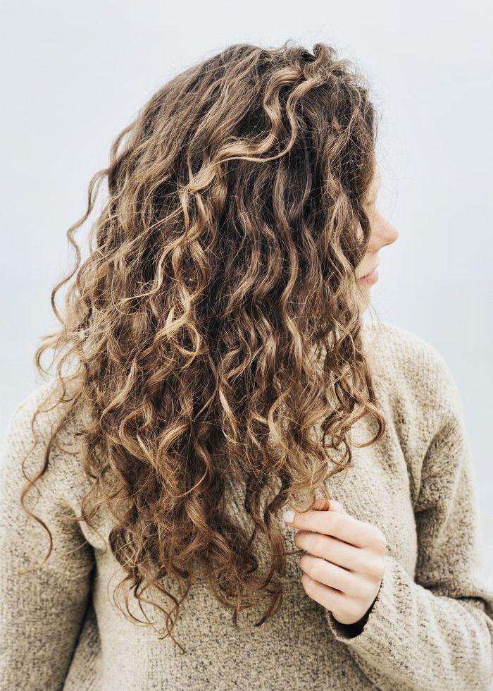 Frisuren mit dauerwelle lang