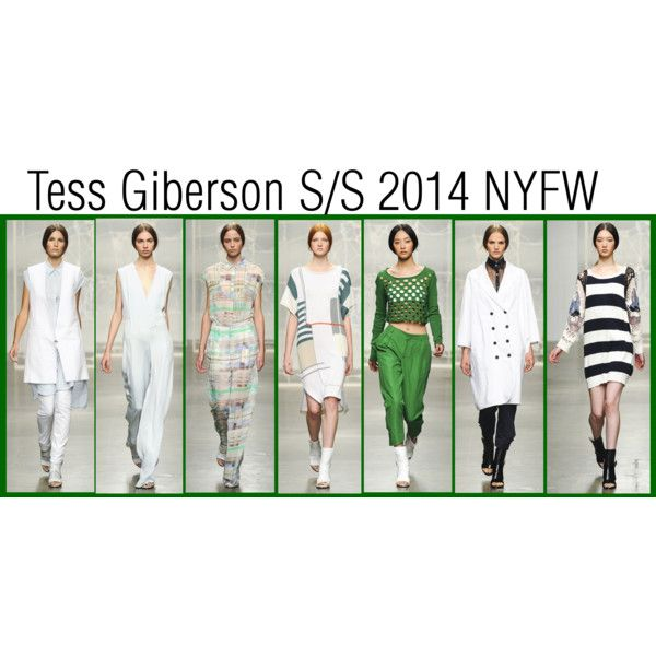 NYFW 2014 .... this green is on trend. And of course the white