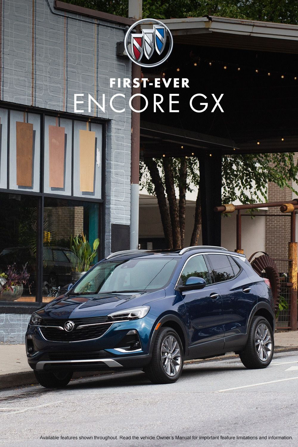Get The Know The First Ever Encore Gx Small Suv Buick Encore Buick