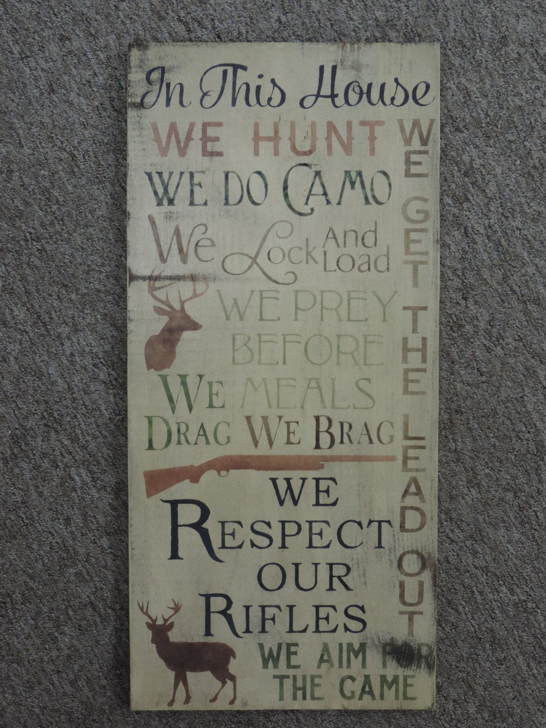 FREE SHIPPING Primitive/Country/Rustic/ Western/ Outdoors