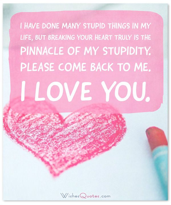 I\'m Sorry Messages for Boyfriend: Sweet Apology Quotes for Him ...