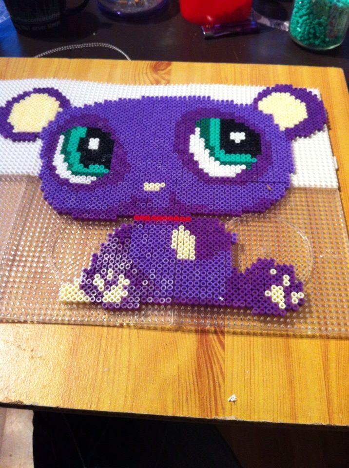 Pet Shop hama beads by sev88420