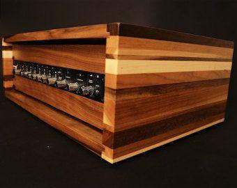 2u 3u Fulcrum Hardwood Series Studio Rack 19 Reclaimed Wood Wood Rack Wooden Accessories Wooden Rack