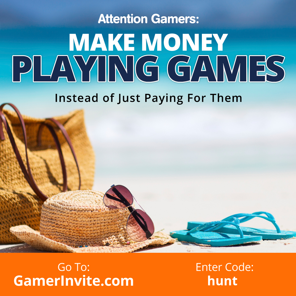 This Is An Opportunity To Make Money While Playing Games Invite All…