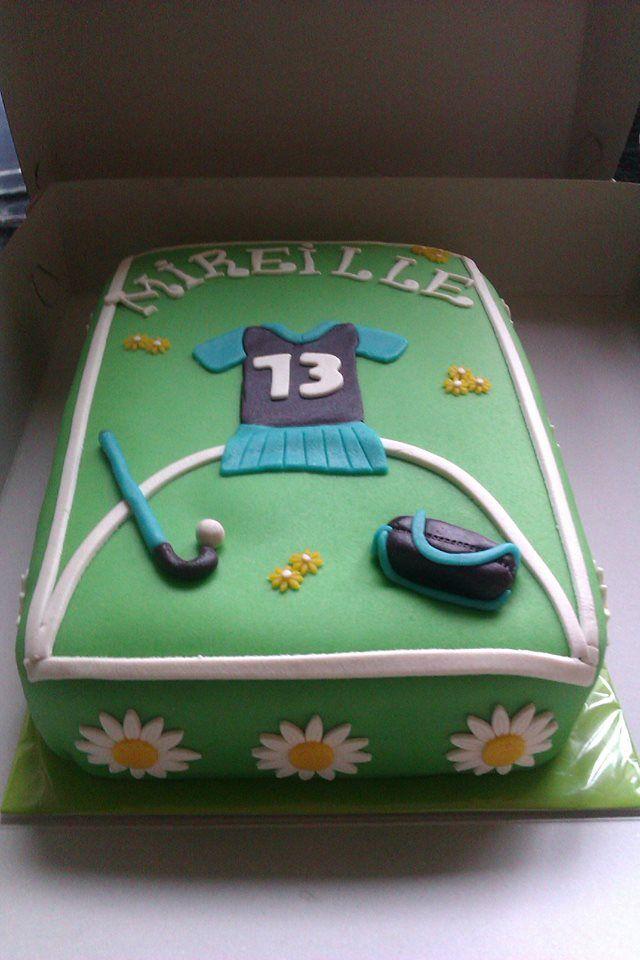 Hockey Taart Voor Mijn Dochter Haar Verjaardag Gemaakt Door Linda