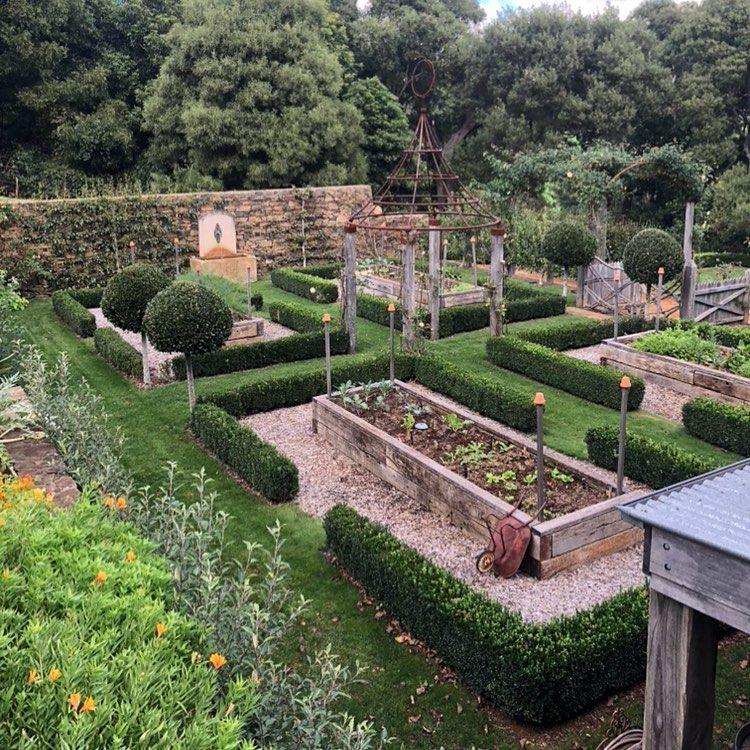 """Ben Hayman on Instagram: """"An amazing veggie garden at a ..."""