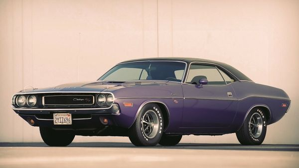 Vintage Muscle Cars Vehicles Dodge Challenger Rt Old Car