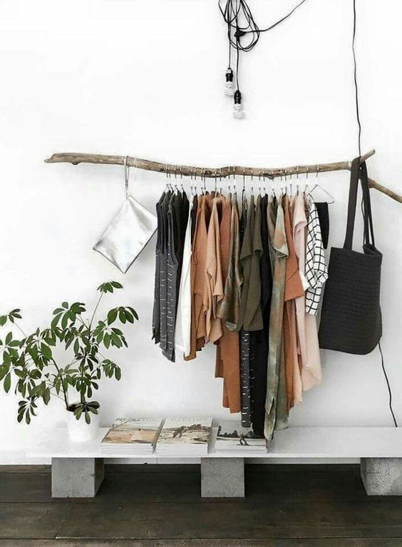 16 id es plan b pour un dressing avec petit budget et petit espace inspirations mon blog. Black Bedroom Furniture Sets. Home Design Ideas