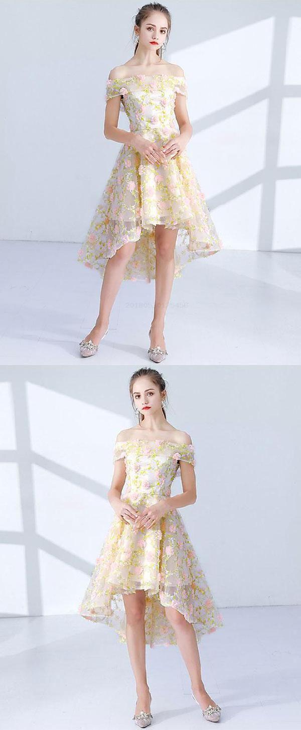 Prom dresses lace short prom dresses prom dresses yellow