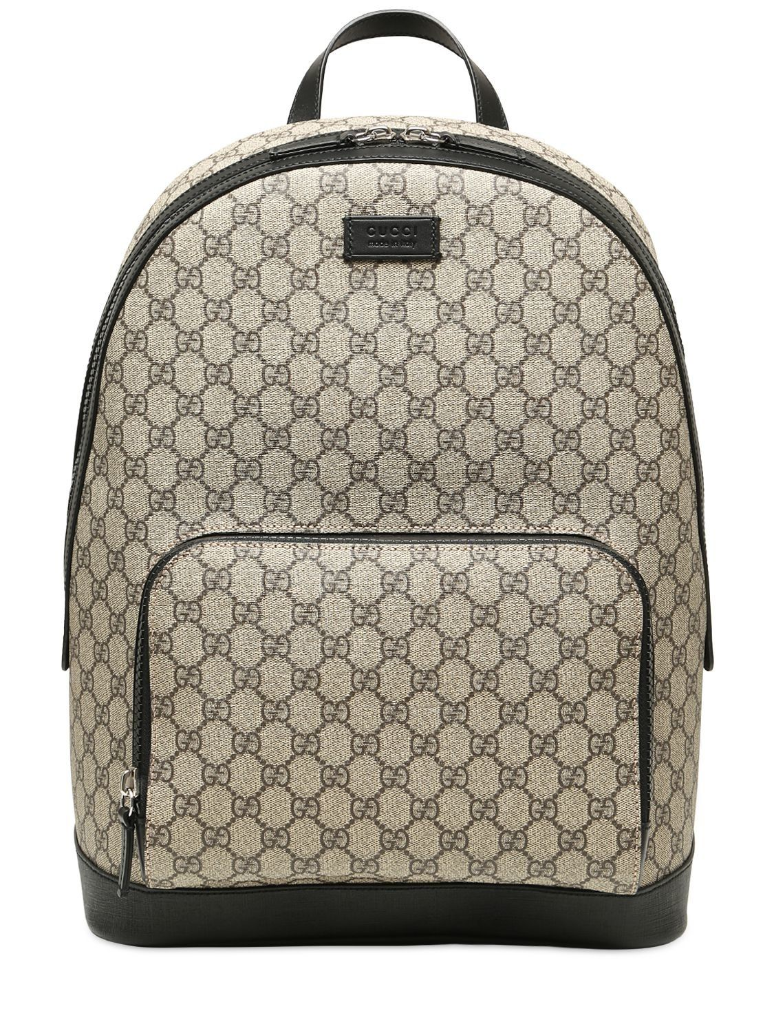 318c012110f3fe Gucci - Natural Supreme Backpack for Men - Lyst. GUCCI GG SUPREME PRINTED  BACKPACK. #gucci #bags #backpacks #