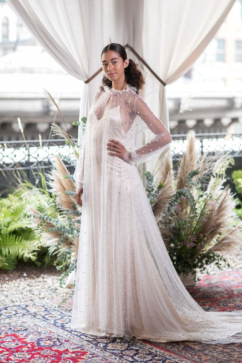 The biggest runway trends from bridal fashion week fall
