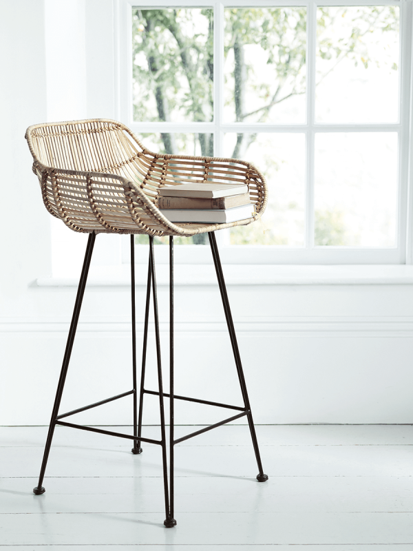 The Best Stylish Counter Height Stools Rattan Counter Stools