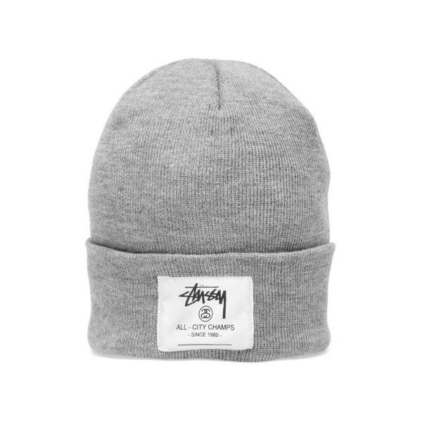 1e3f5ea306f Stussy City Champs Cuff Beanie ( 35) ❤ liked on Polyvore featuring  accessories