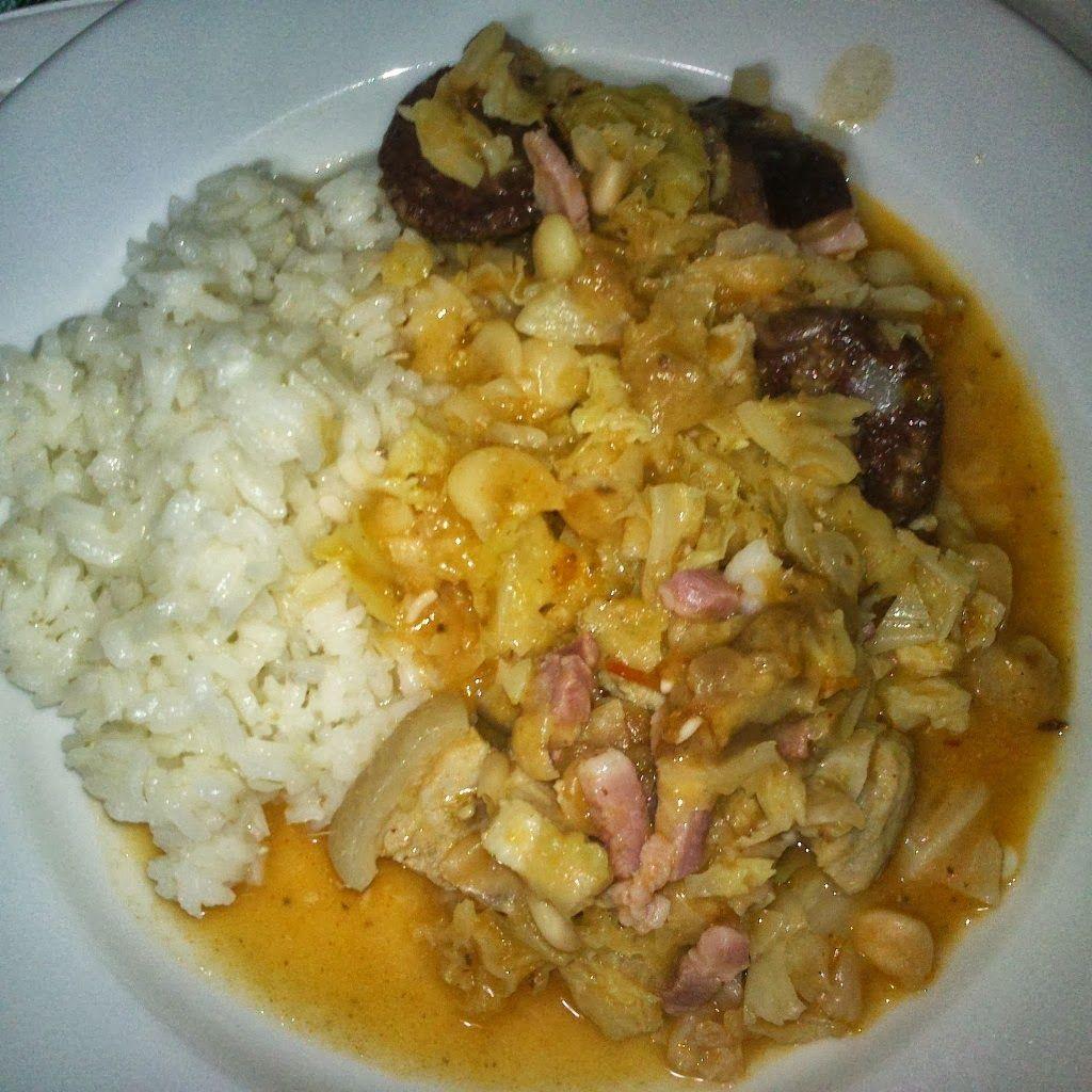 Feijoada de carne Yammi  receita em www.avanessaguerra.blogspot.pt