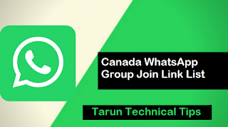 Canada WhatsApp Group Join Link List Hi Folks, here we come