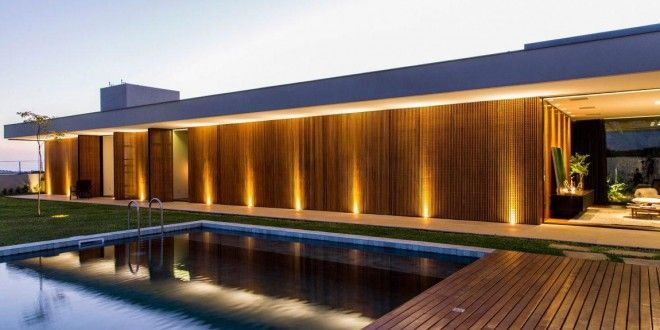 Franca-SP: Uma mansão onde o clima e a natureza se tornam presente na decoração