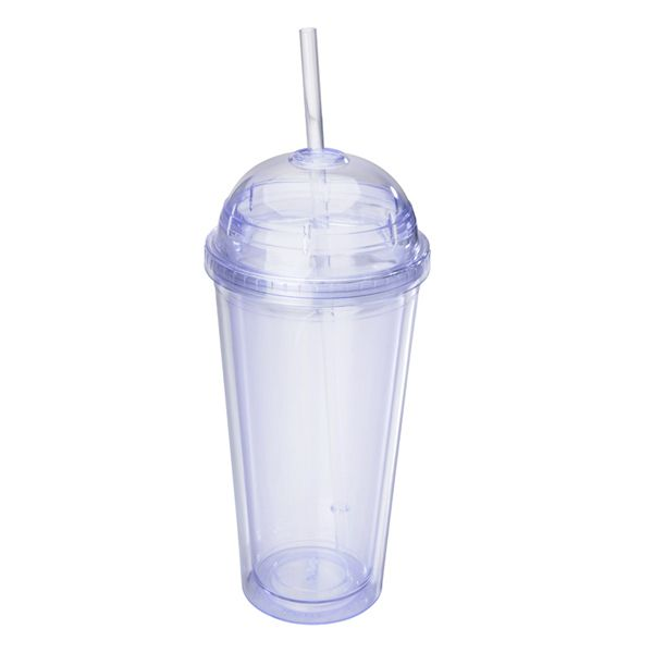 Tumbler 20 Oz Double Wall Acrylic Cups With Retractable Straw Screw On Dome Lid With Rubber Seals And 100 Bpa F Acrylic Cups Tumbler Cups Diy Clear Acrylic