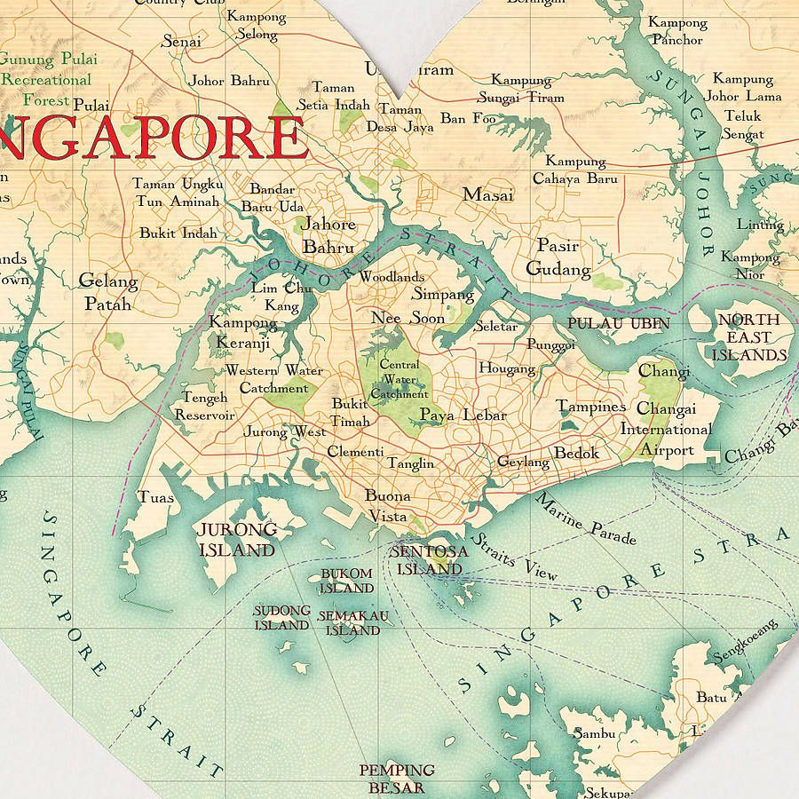 SINGAPORE MAPS DIEULOIS
