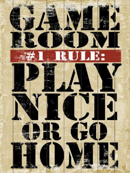 Photo of Game Room Rules- Slatted Wood Art Sign Home Wall Decor Typography #recreationalr…