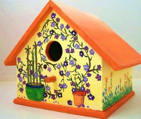 pictures of birdhouses | Birds need a pretty home too!!!