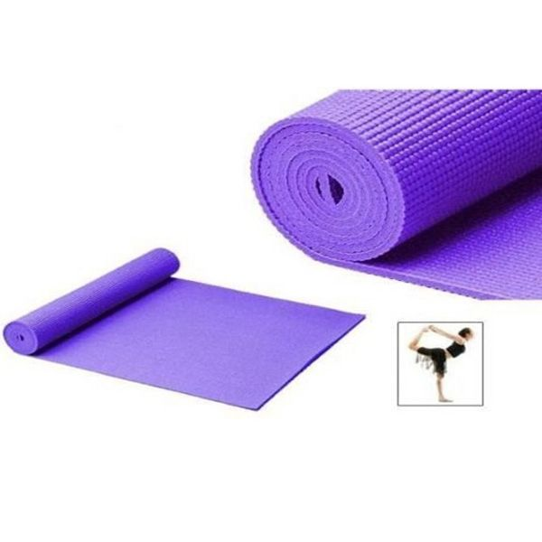 Pvc Yoga Mat With Printed Flowers Any Color Available Good Anti Slip Effects And Easily Washable Helps You Exercise Better Sport Mat Yoga Mat Mat Exercises