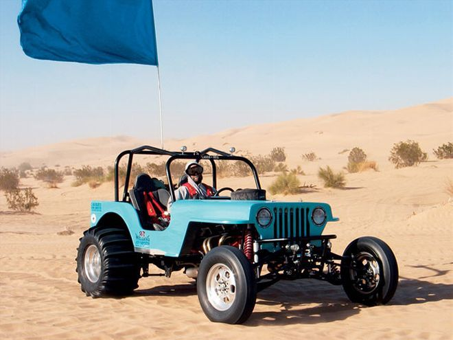 1963 Toyota Land Cruiser Fj40 4wd Sand Dragster Where The