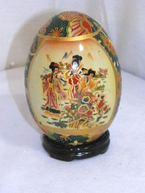 chinese porcelain garden stool sale | NEW ORIENTAL ASIAN CHINESE GEISHA PORCELAIN EGG HAND PAINTED STAND & Ceramic Elephant Hand Painted Asian Plant Stand Garden Stool islam-shia.org