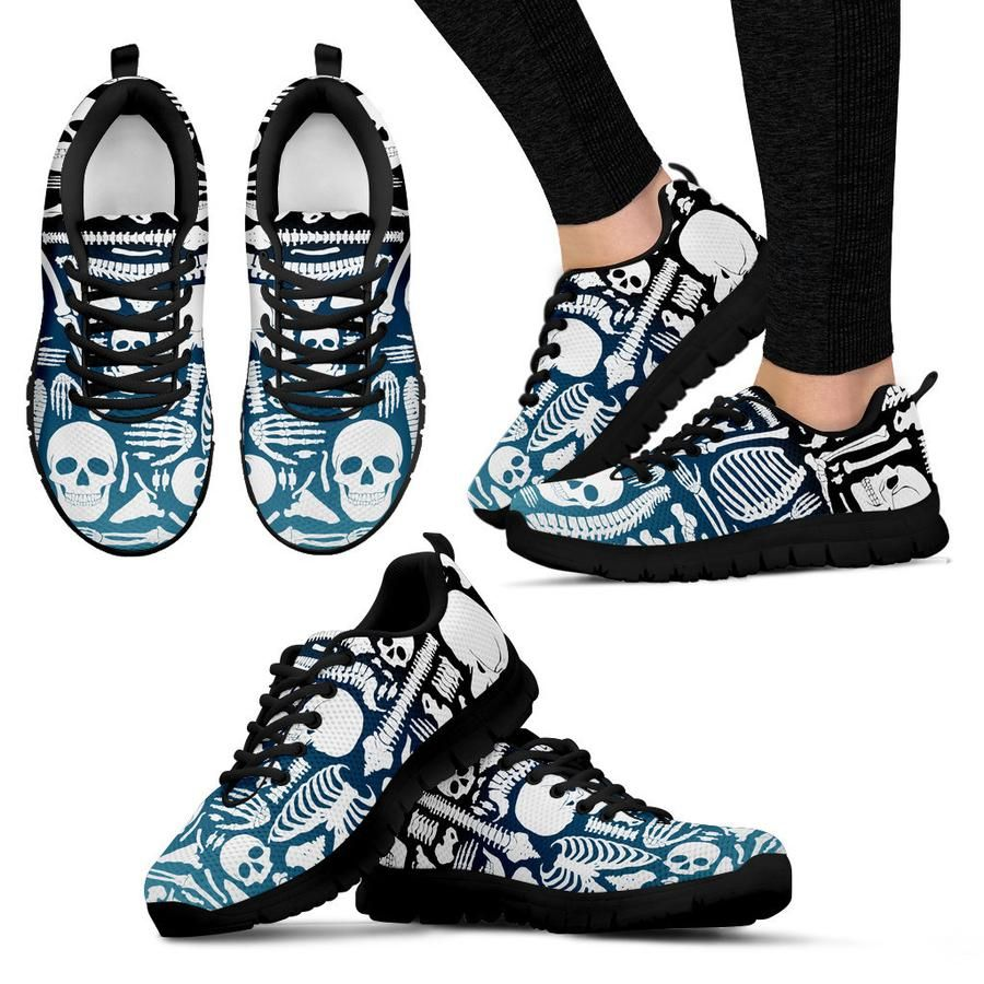 X Ray Film Womens Sneakers Black - Need Those Sneakers