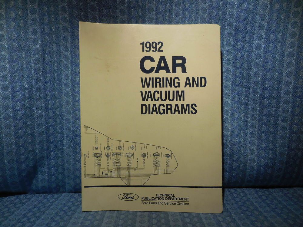 1994 Ford Lincoln Mark VIII Wiring Diagrams /& Service Manuals Manual OEM