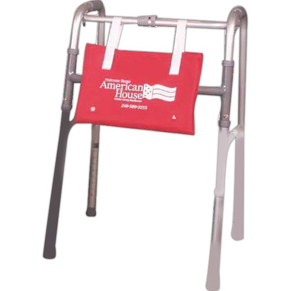 This walker tote is a perfect promo product for senior living ... on
