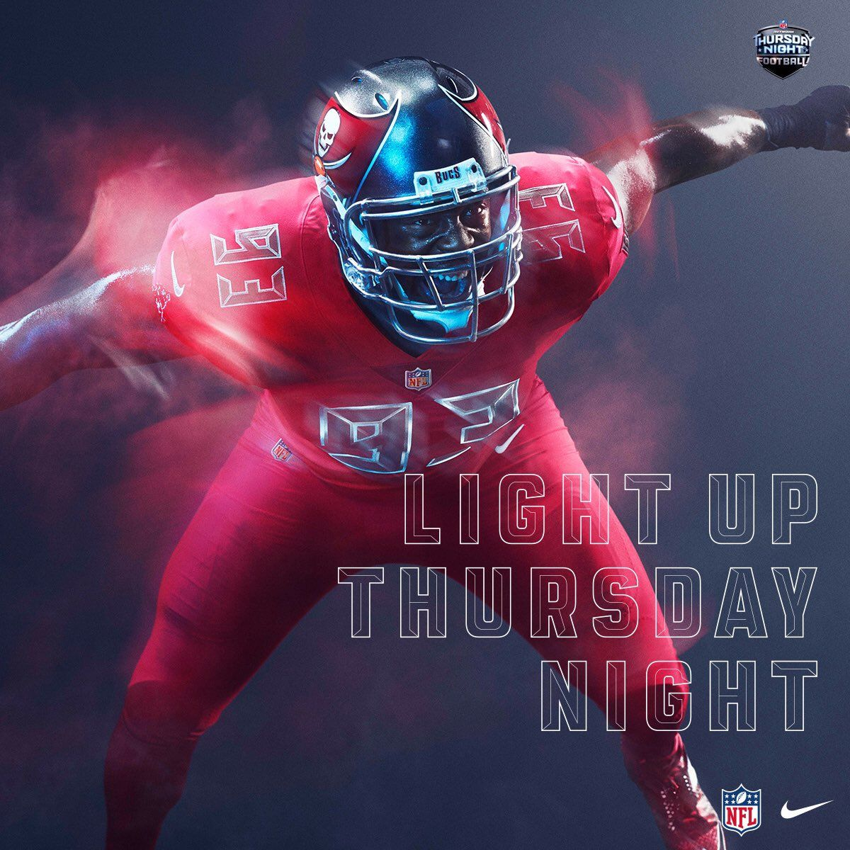 Power Ranking All 32 Nfl Color Rush Uniforms 20 Tampa Bay Buccaneers Nfl Color Rush Uniforms Color Rush Uniforms College Football Uniforms