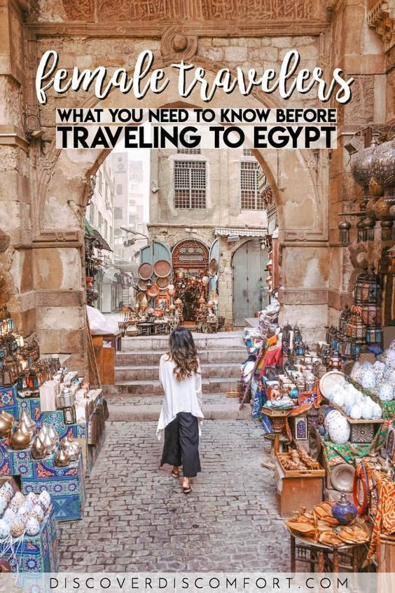 One of the questions we get the most about travel to Egypt is whether Egypt is safe: specifically, is it safe for women travelers? So here's the full context of traveling in Egypt as a woman, and how you can prepare yourself and have an incredible trip!   egypt travel tips women   egypt solo travel   middle east   female travel   #egypt #femaletravel #discoverdiscomfort