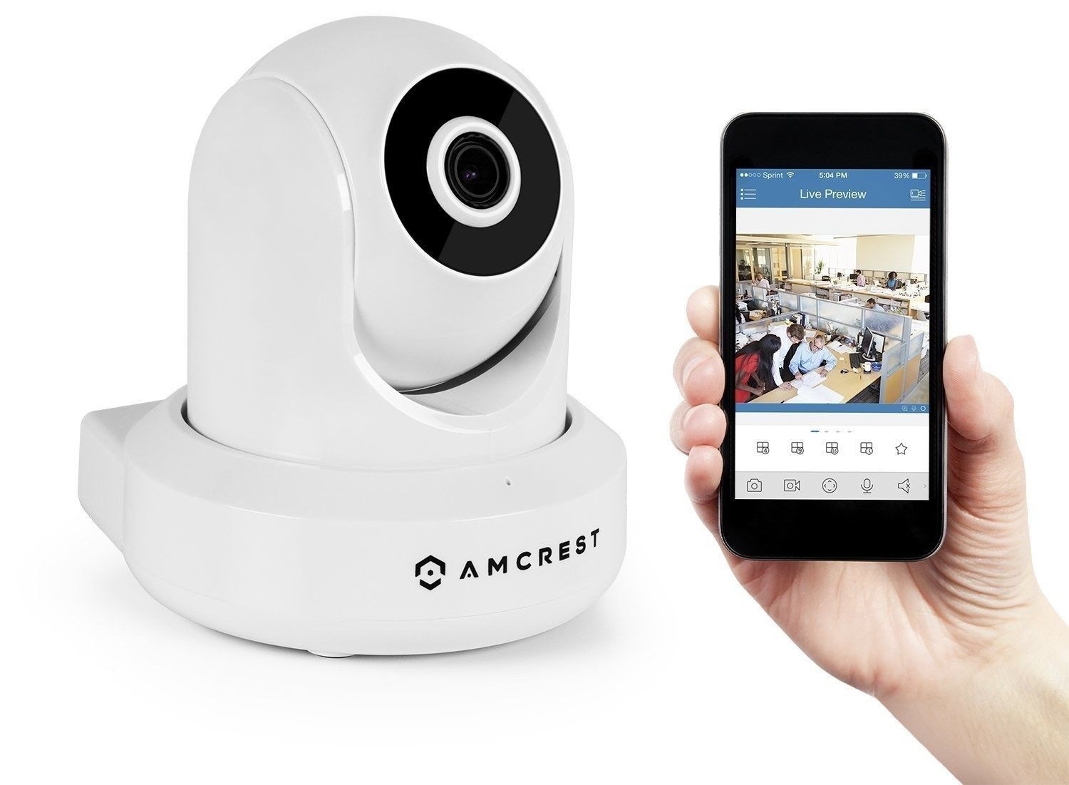 4bb6fbadc5c A wireless security camera you can check with your phone. Wireless Security  Cameras