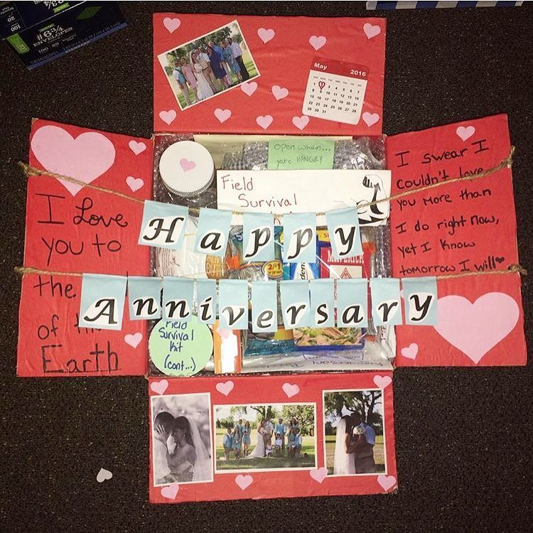"""This was my first care package I sent him and also our ..."
