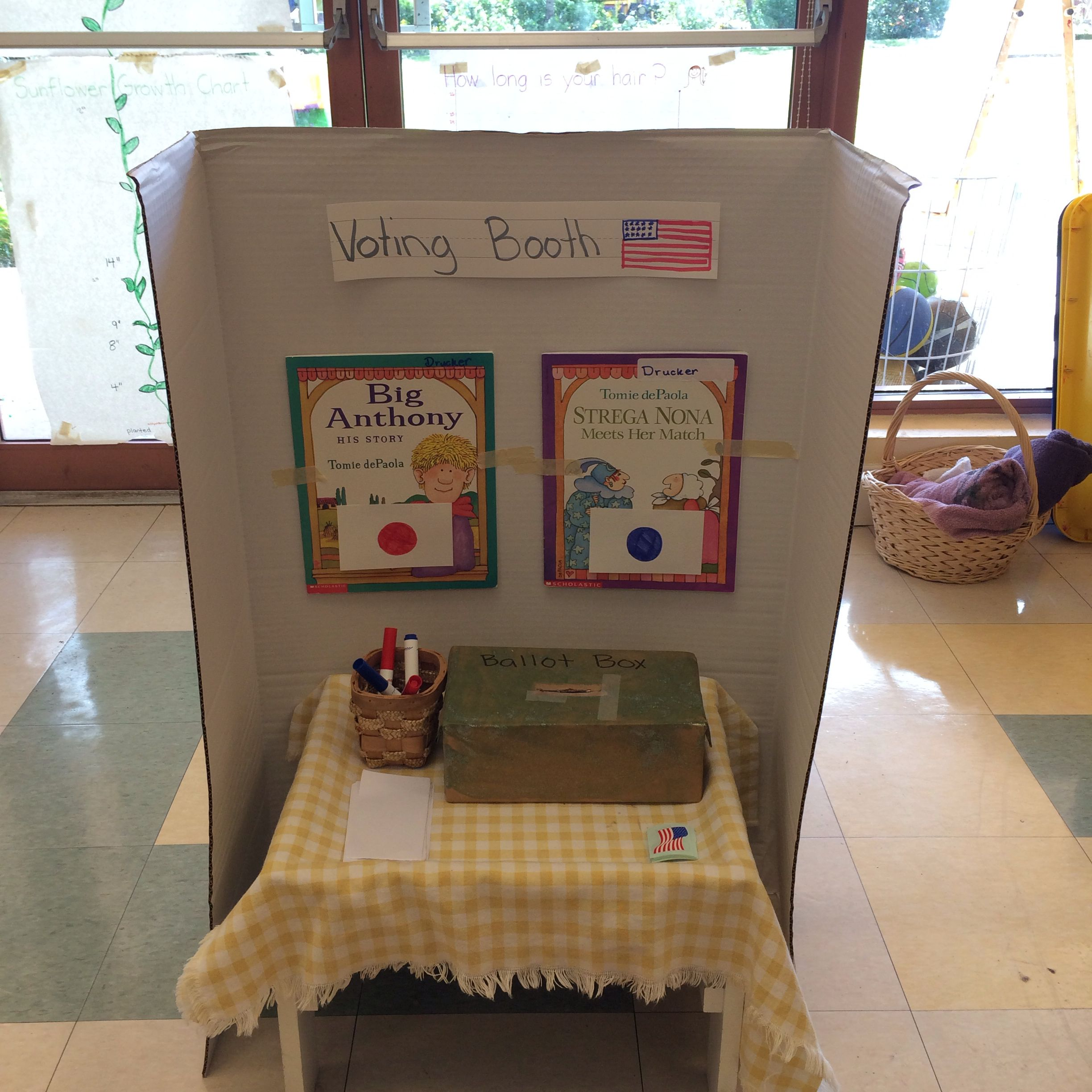 President S Day Voting Booth We Set Up A Voting Booth In