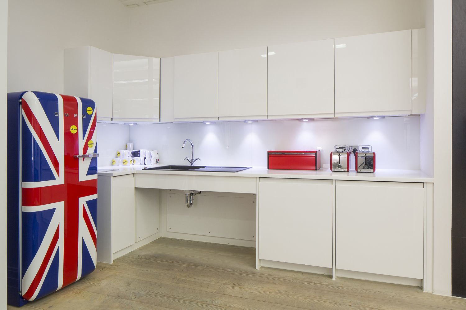 Office Design | Buzzfeed London kitchen