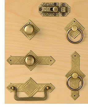 Brass Diamond Cabinet Hardware