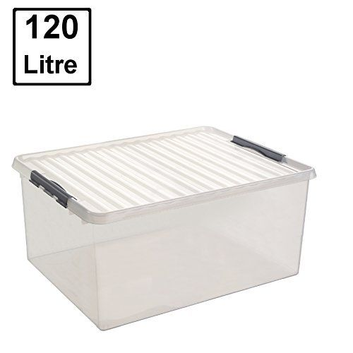 Hochwertige Xxl Box Mit Deckel 80l 60x40cm X2713