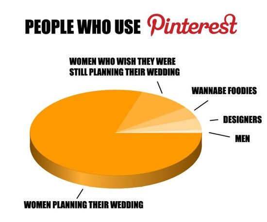 Pinterest Demographics Meme