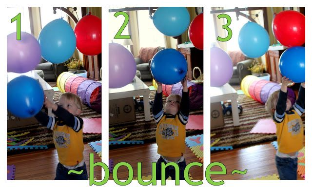 Balloon Obstacle Course -Activity Course with Balloons | hands on : as we grow
