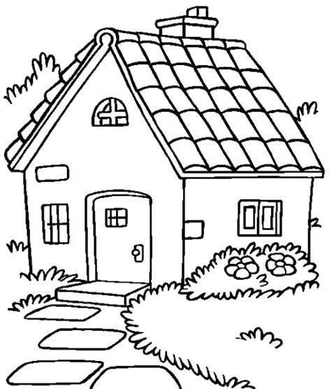 Casas Bonitas Para Colorear House Colouring Pages Coloring Pages Art Drawings For Kids