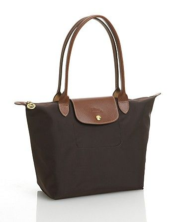ee1635bf6d Longchamp Le Pliage Medium Shoulder Tote | Bloomingdale's in Chocolate!