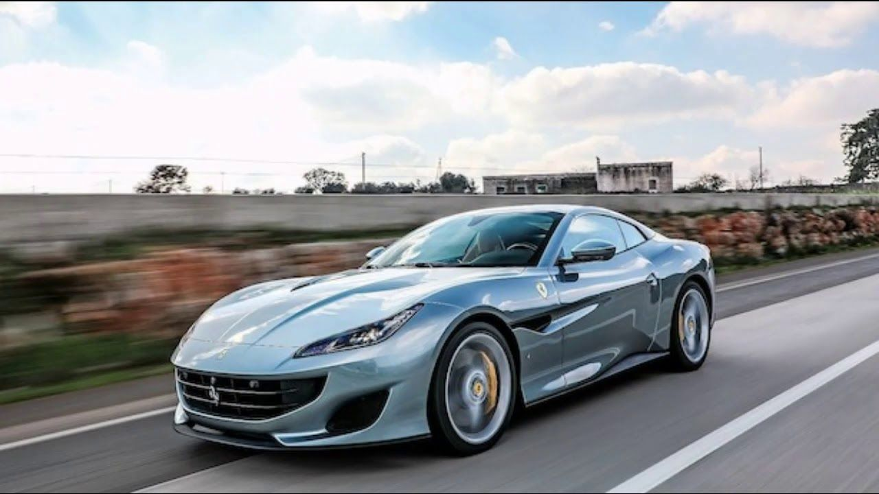 2019 Ferrari Portofino Fast And Modern Cars With A Lots Of