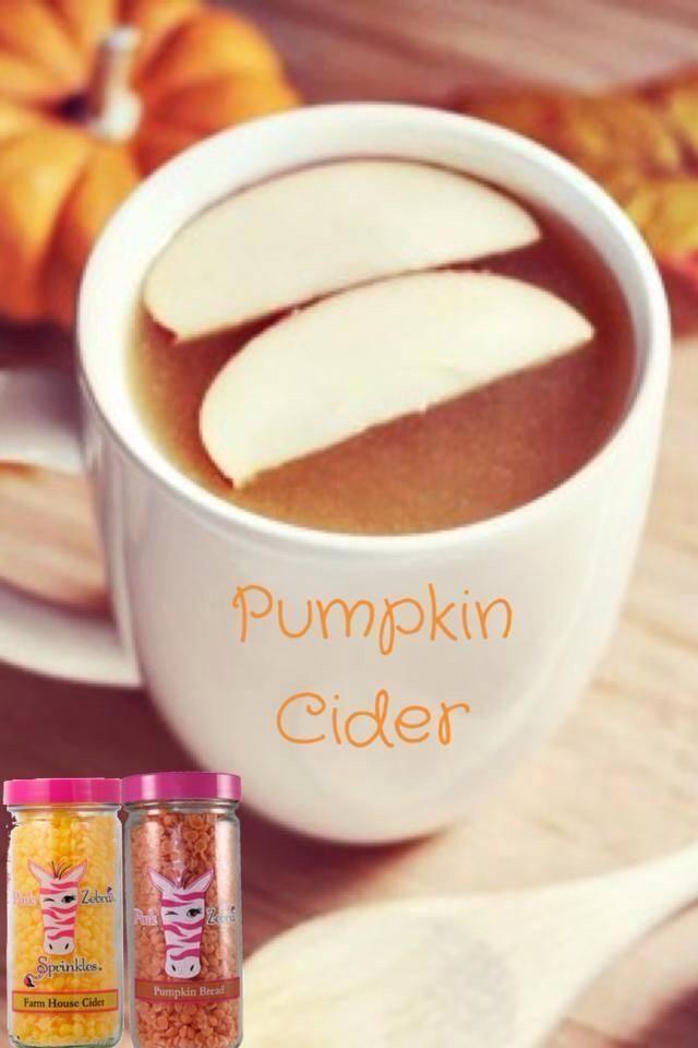 Love Pumpkin Cider? Try this amazing Pink Zebra recipe 1/2 Pumpkin Bread 1/2 Farmhouse Cider.
