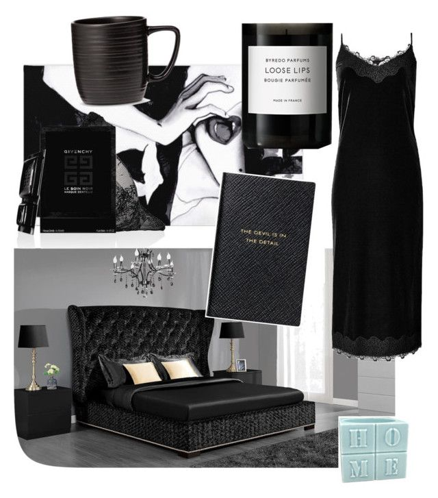 """Untitled #27"" by julybird-1 ❤ liked on Polyvore featuring Dorel, Givenchy, Smythson, Byredo and Threshold"