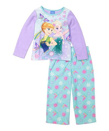 Loving this Frozen Purple Sisters Pajama Set - Infant & Toddler on #zulily! #zulilyfinds