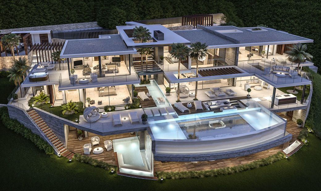 Amazing Luxury Villa Project La Zagaleta Spain In Benahavis Spain For Sale On Jamesedition Luxury Homes Dream Houses Mansions Modern Mansion
