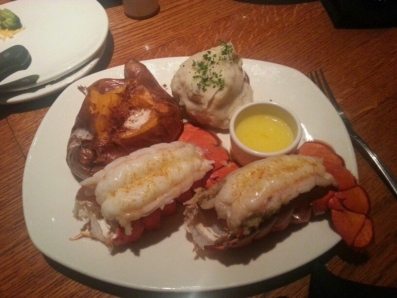 Two steamed lobster tails outback steakhouse | Life's too short to not eat good | Steamed ...
