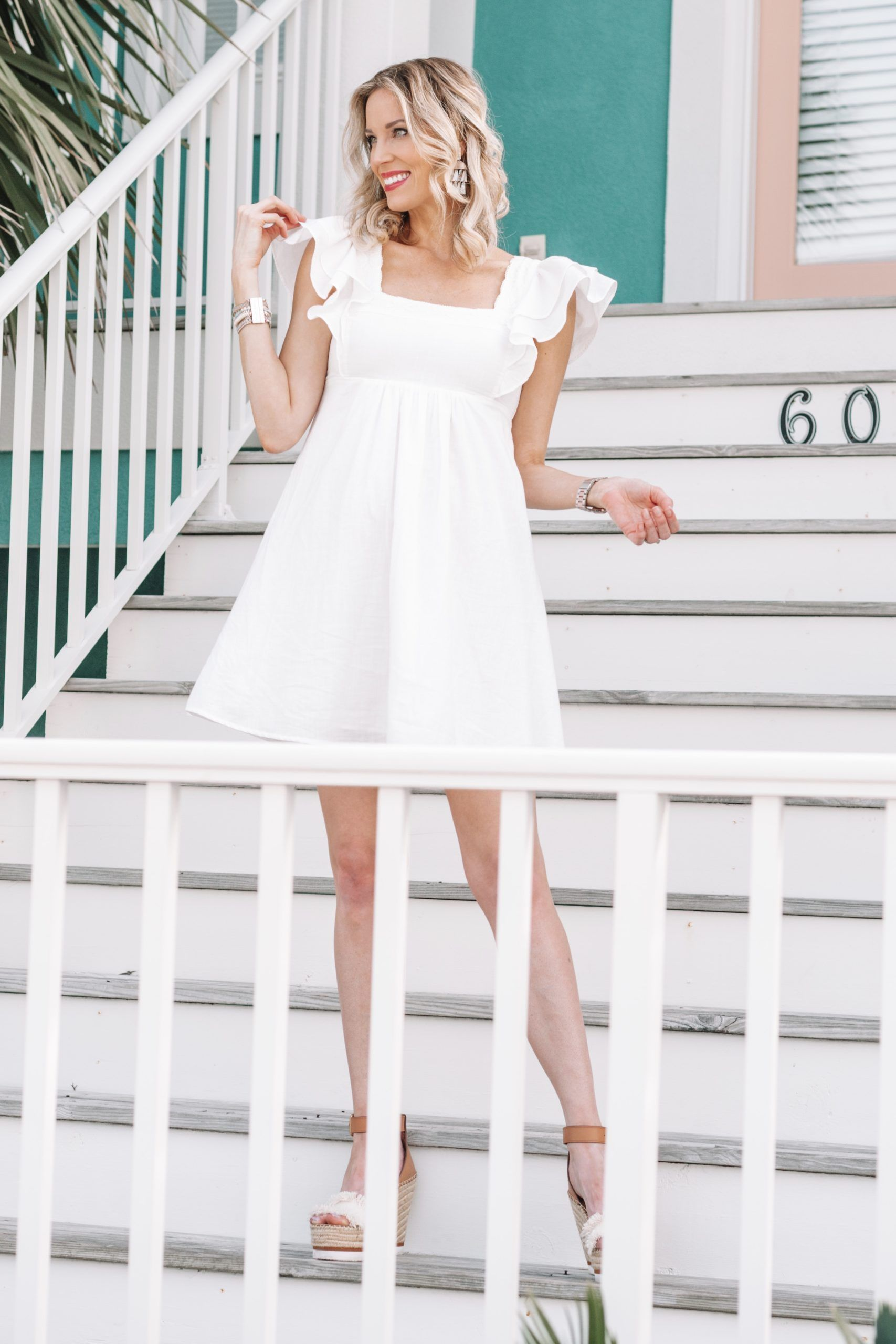 Little White Dress 28 Straight A Style White Dress White Babydoll Dress Little White Dresses [ 2560 x 1707 Pixel ]