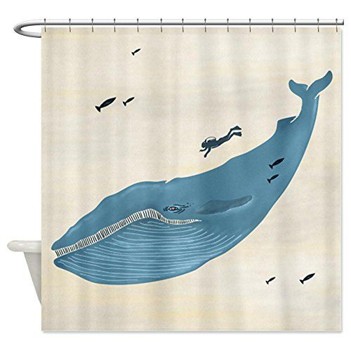 Robot Check | Whale shower curtain, Fabric shower curtains ...